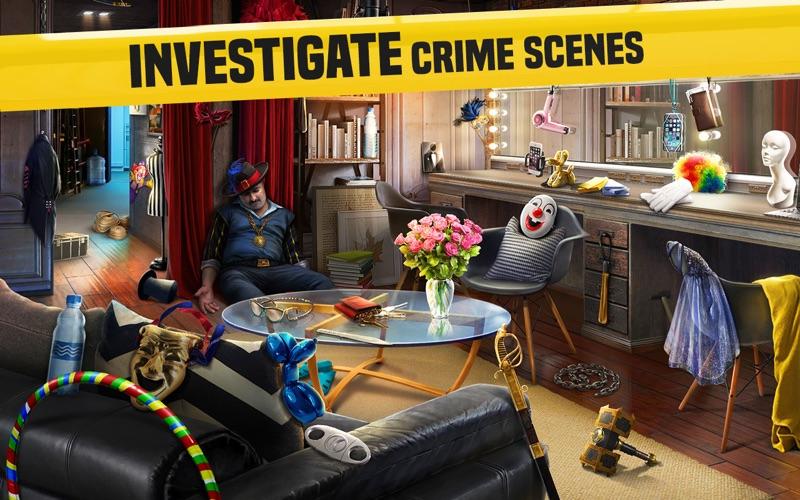 Homicide Squad: Hidden Objects screenshot 1