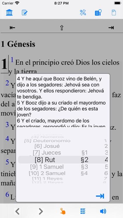 La Biblia Reina Valera-Spanish screenshot-3