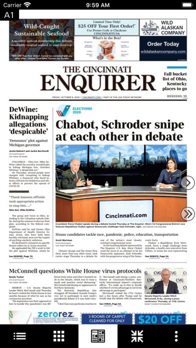 The Enquirer Print Edition Screenshot