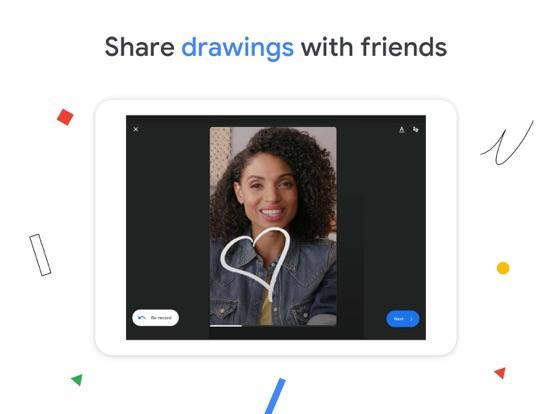 iPad Image of Google Duo