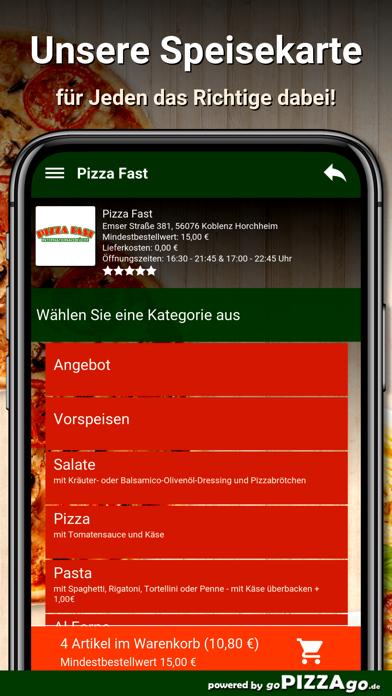Pizza Fast Koblenz Horchheim screenshot 1