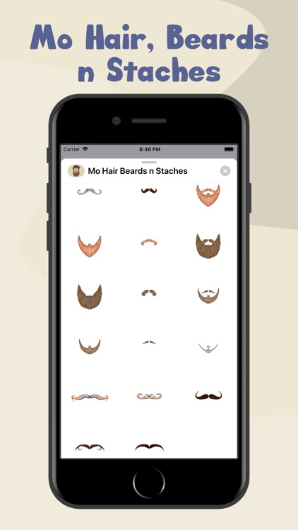 Mo Hair, Beards n Staches screenshot-4