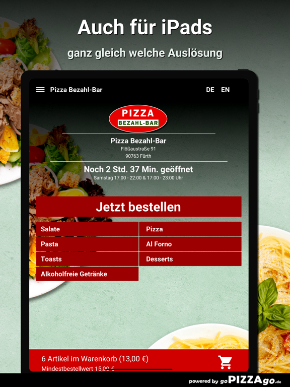 Pizza Bezahl-Bar Fürth screenshot 7