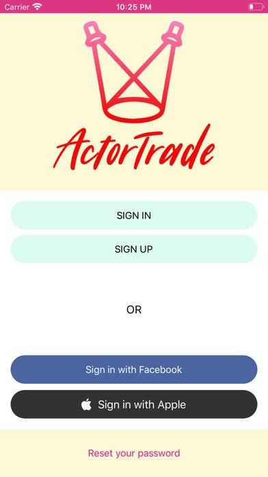 Actor Trade screenshot