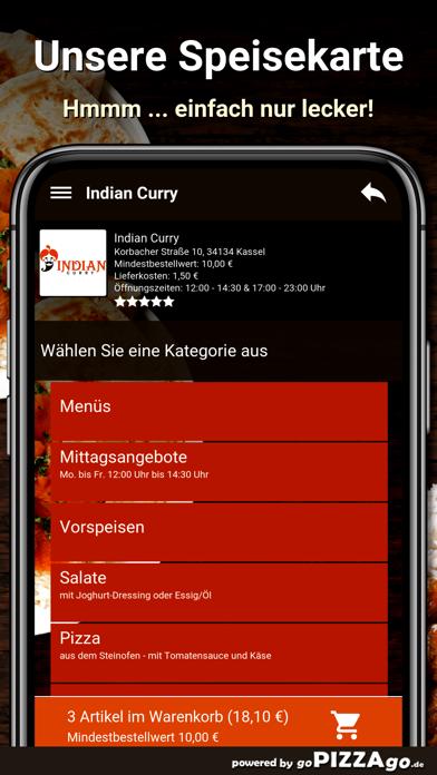 Indian Curry Kassel screenshot 4