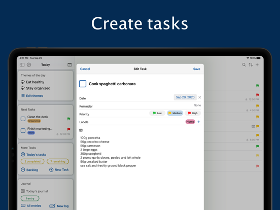 Daily Me: Themes, Tasks, Diary screenshot 11