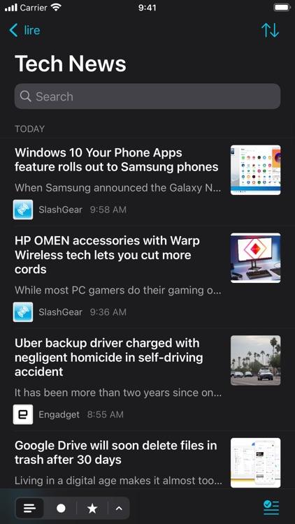 lire: RSS Reader screenshot-3