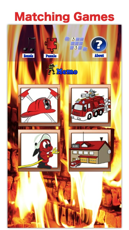 Firefighter & Fire Truck Games screenshot-3