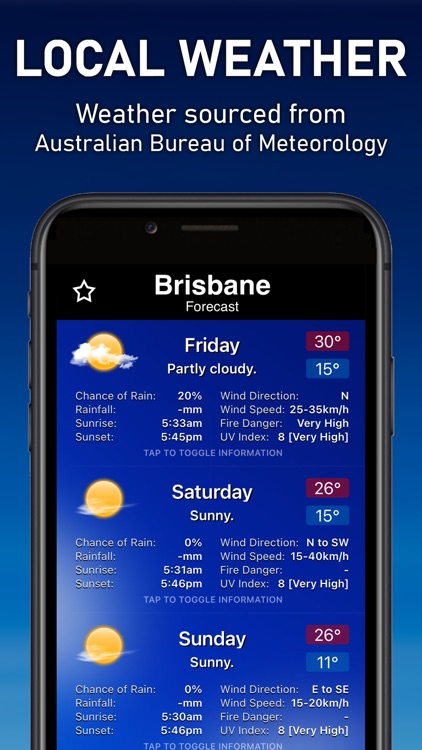 AUS Weather screenshot-4