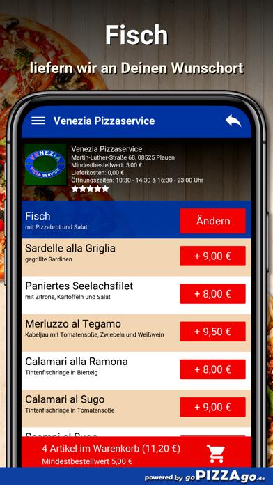 Venezia Pizzaservice Plauen screenshot 6