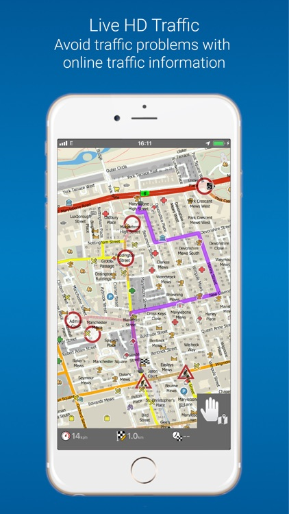 MapFactor Navigator Pro screenshot-3