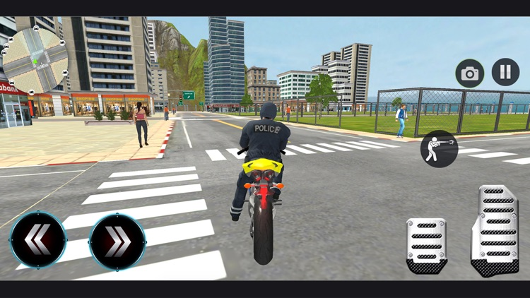Police Bike - Gangster Chase screenshot-3