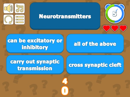 Nervous System & Anatomy Quiz screenshot 7