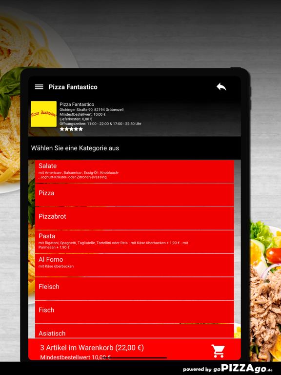 Pizza Fantastico Gröbenzell screenshot 8