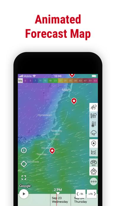 Windfinder Pro: Wind & Weather Screenshots