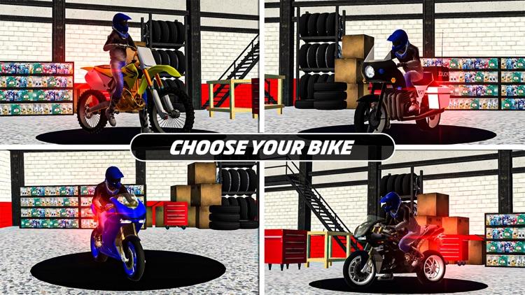 Moto Rider Highway Racer 3D screenshot-7