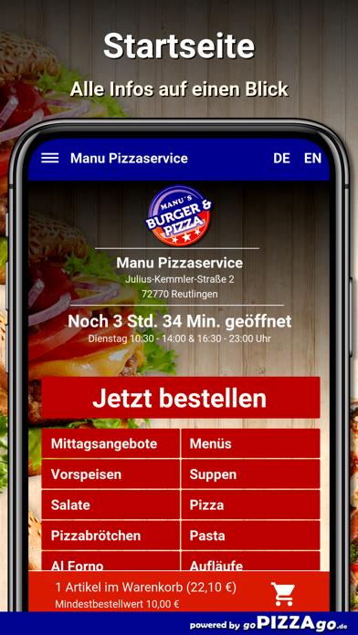 Manu Pizza Reutlingen screenshot 2