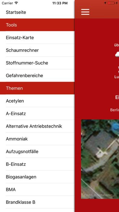 Feuerwehr Einsatzleiter Pro Screenshot