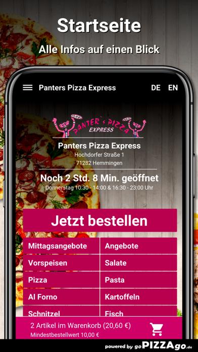 Panters Pizza Hemmingen screenshot 2