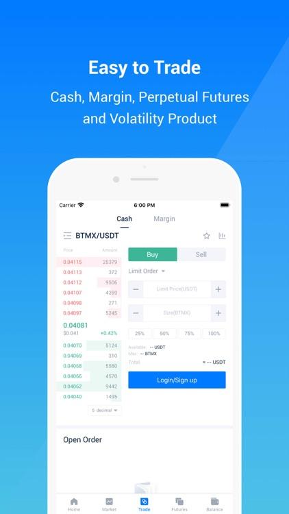 BitMax-Digital Asset Exchange
