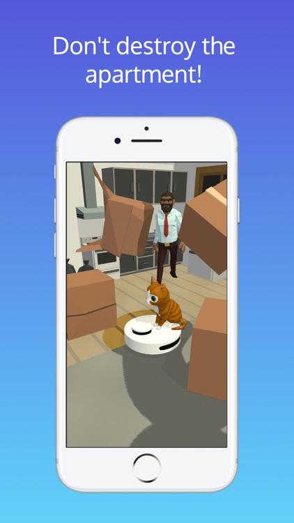 Robot Cleaner 3D funny cleaner screenshot-3