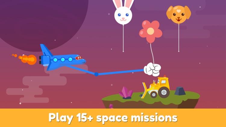 Carl Super Truck: Spaceship screenshot-4