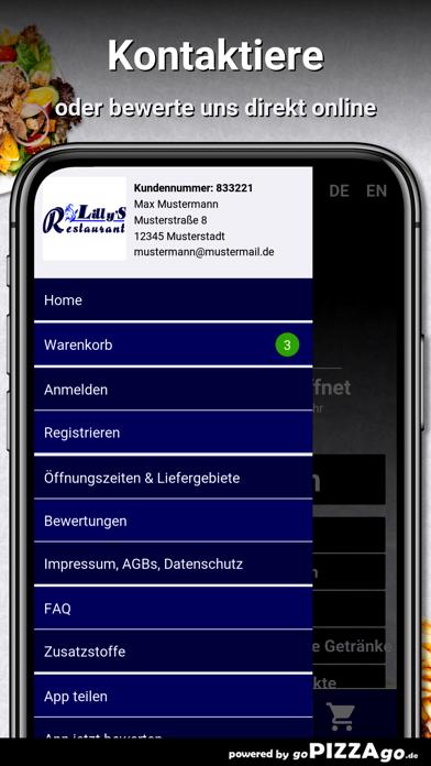 Lillys Restaurant Bonn screenshot 3