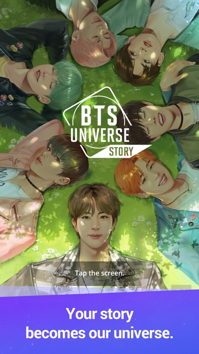 BTS Universe Story screenshot #1