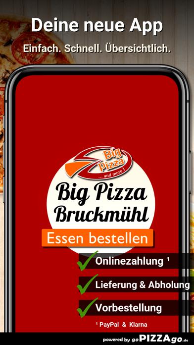 Big Pizza Bruckmühl screenshot 1