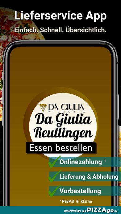 Da Giulia Reutlingen screenshot 1