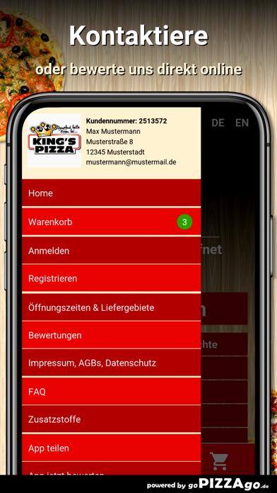 Kings Pizza Meerbusch screenshot 3