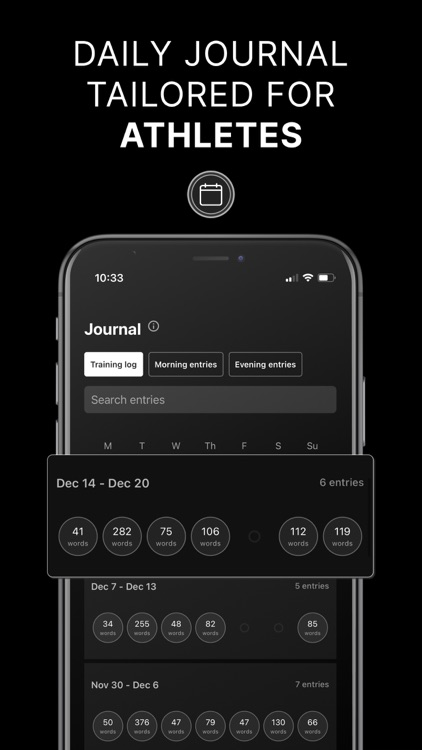 The Athlete's Journal