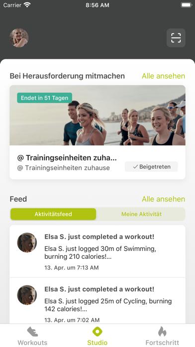 Grobe Fitness AppScreenshot von 3