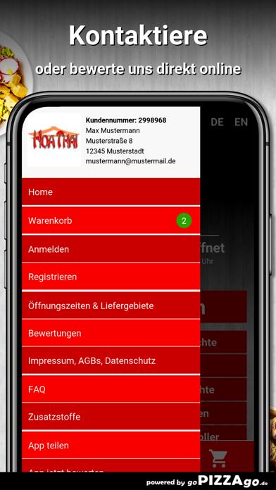 Hoa Thai Restaurant München screenshot 3