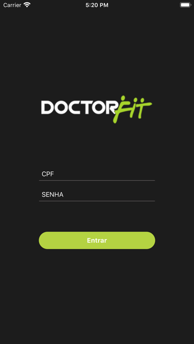 Doctorfit Alunos screenshot 1