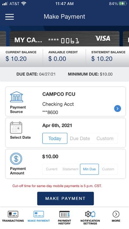 MyCU Card screenshot-3