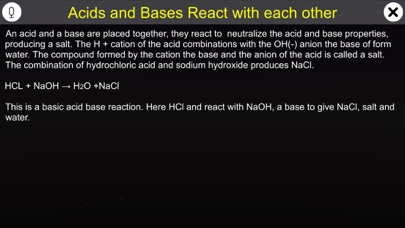 Reaction of Acids with Bases screenshot 1