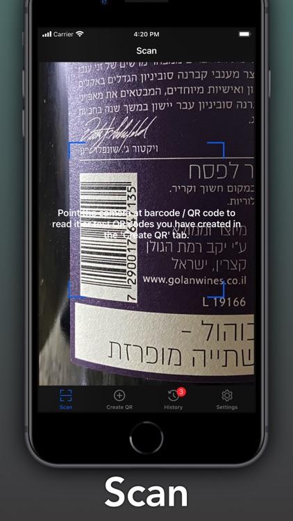 QR + BarCode Scanner & Maker