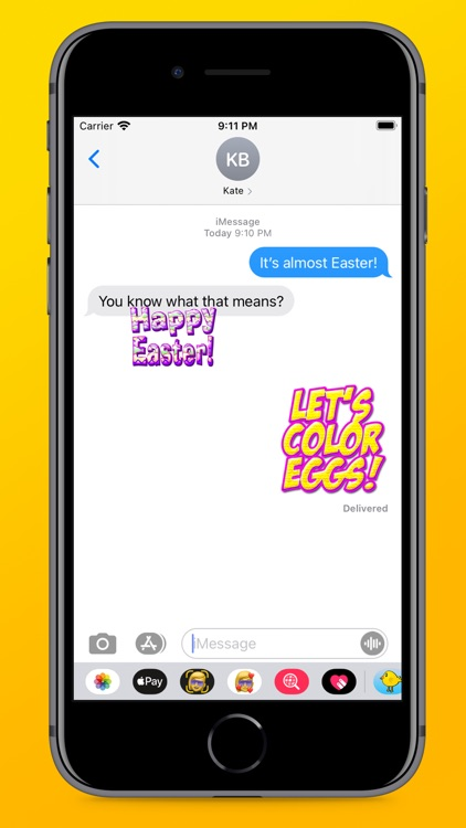 Easter Fun Stickers