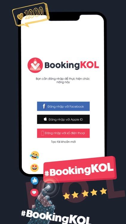 Booking KOL screenshot-9