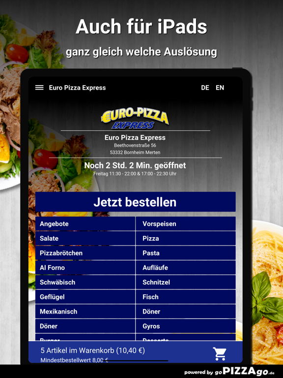 Euro Pizza Bornheim Merten screenshot 7