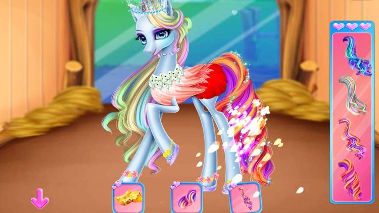 Rainbow Pony care screenshot-7