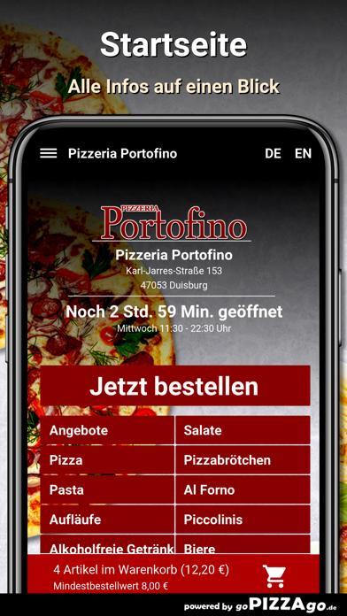 Pizzeria Portofino Duisburg screenshot 2