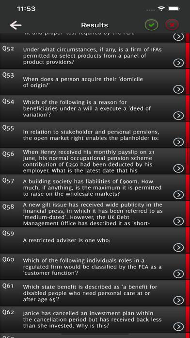 CeMAP 1 Mortgage Advice Exam screenshot 5