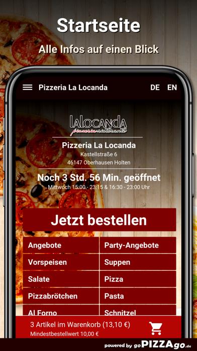 Pizzeria La Locanda Oberhausen screenshot 2