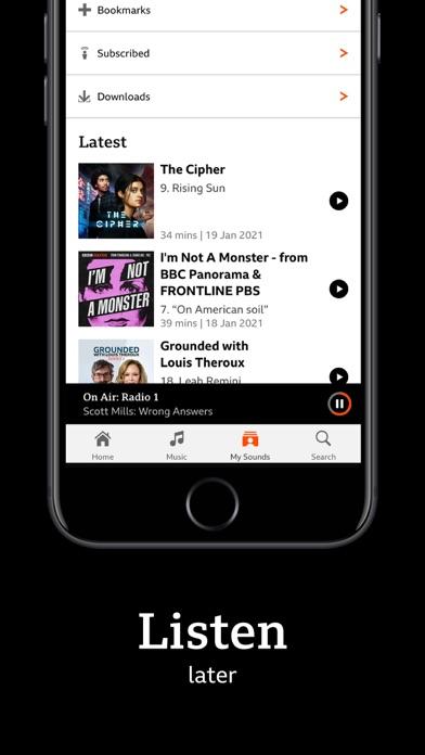 messages.download BBC Sounds software
