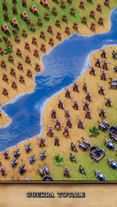 Screenshot of Rise of Empires: Fire and War3