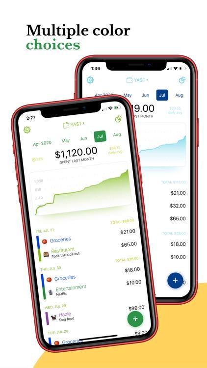 Yet Another Spending Tracker screenshot-4