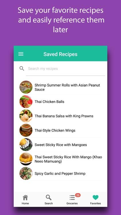 Thai Foods: Authentic Recipes screenshot-5