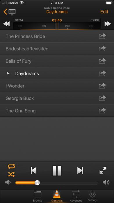 VLC Remote Pro! Screenshots